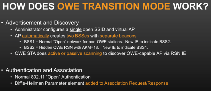 owe transition