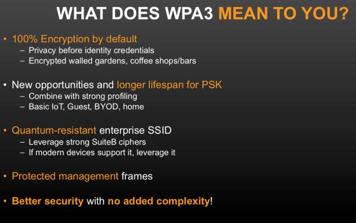 WPA3 helps